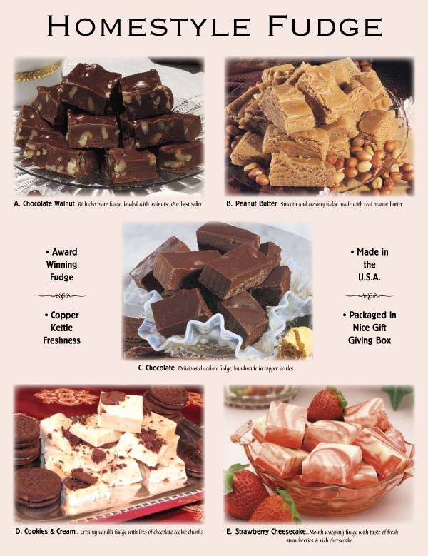 Homestyle Fundraising Fudge