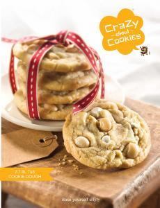 cookie dough brochure fundraising for kids