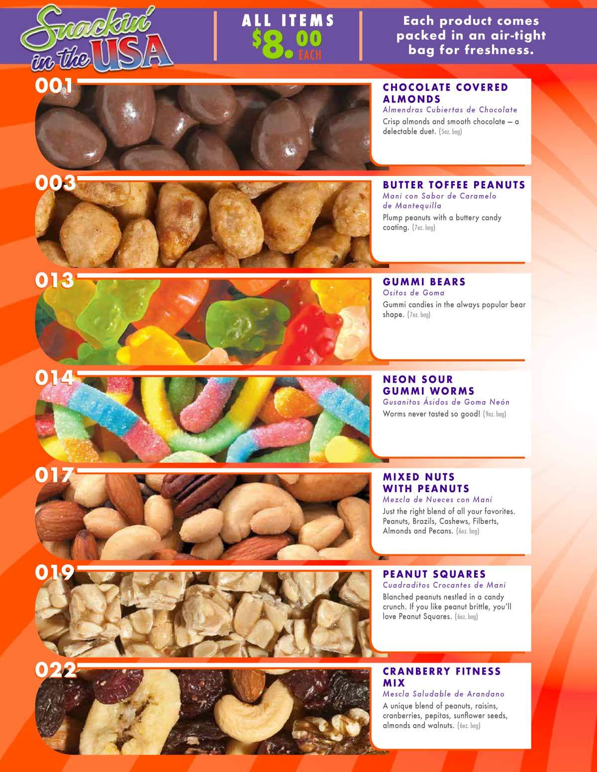 SNACKIN IN USA 2019 8 BROCHURE 2