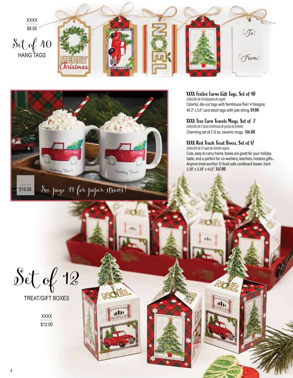 Christmas Fundraisers For Schools.Winter Wonderland Gift Fundraising Brochure Up To 50 Profits
