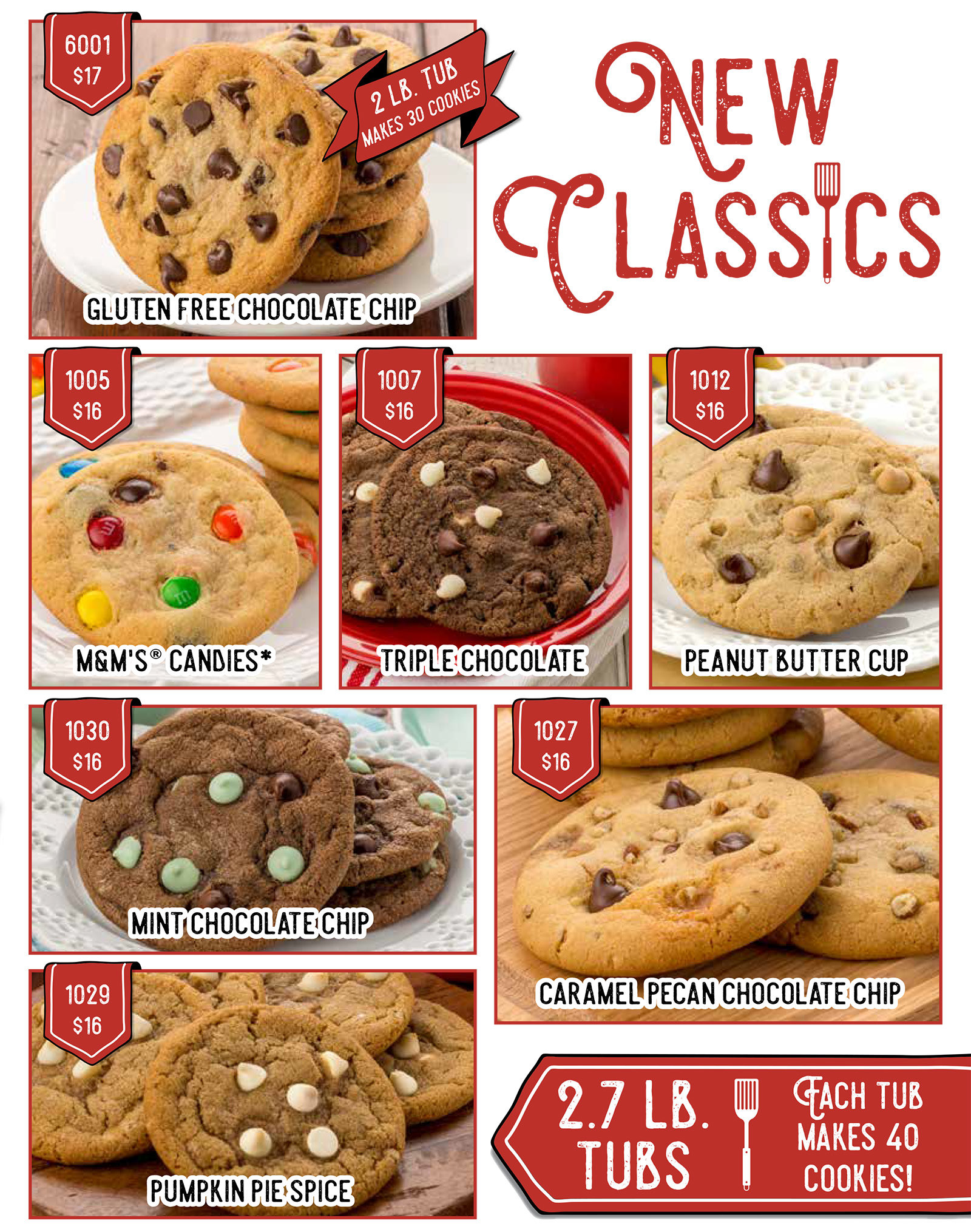 cookie dough fundraising