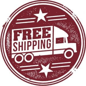 free shipping for Snackin in the USA