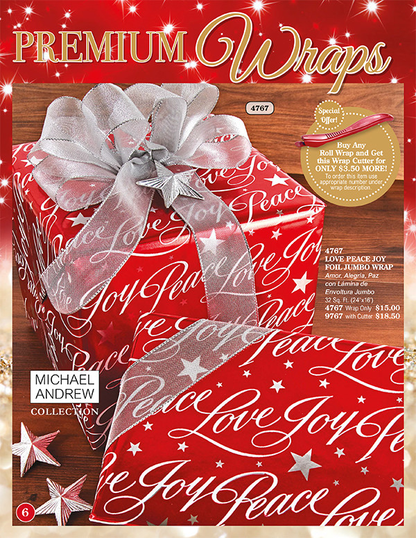 Christmas Wrapping Paper Fundraiser