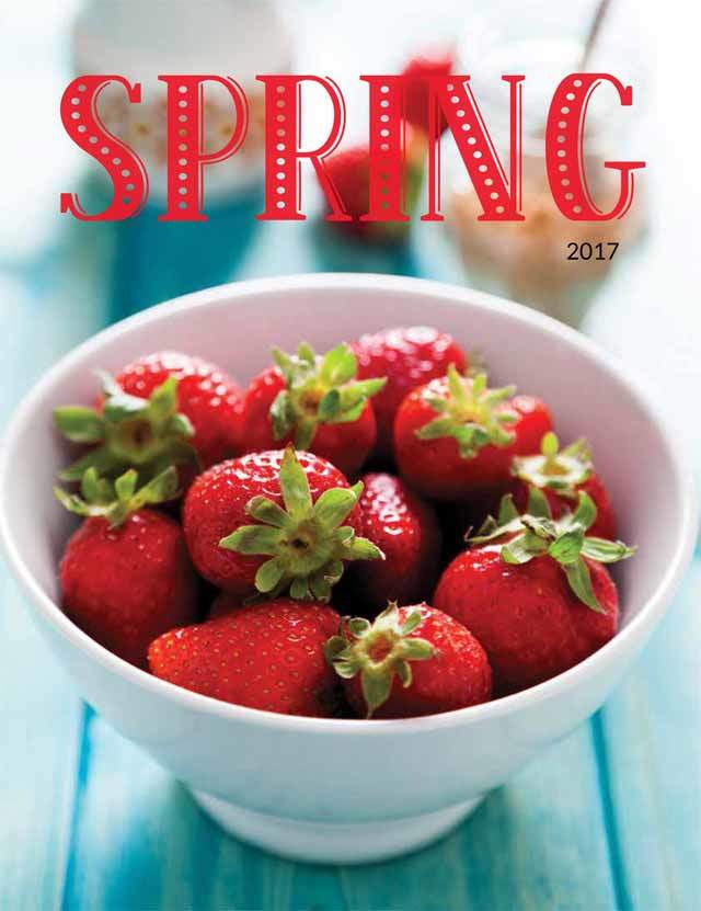 Simply Spring Gift Brochure Fundraising