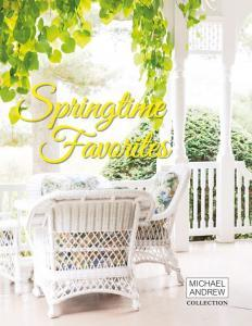 Springtime favorites gift brochure fundraising