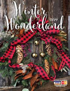 Winter Wonderland Fundraising Catalog