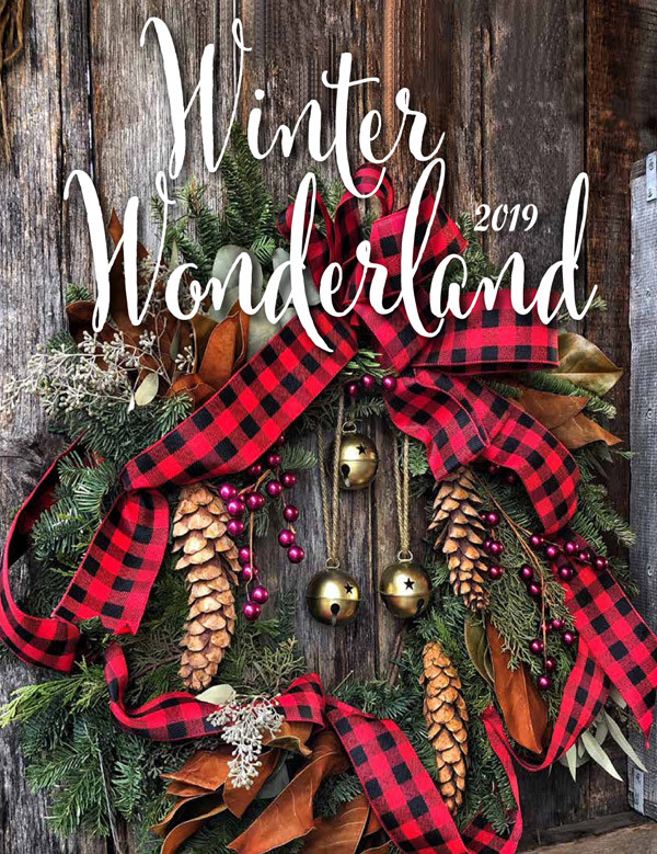Winter Wonderland Gift Fundraising Brochure