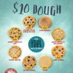 Our best fundraiser for cookie dough is our $10 cookie dough brochure