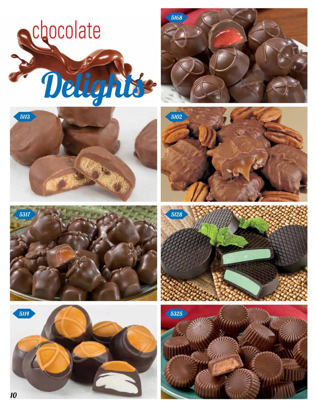 Spring 2019 Gift Catalog Chocolate Delights