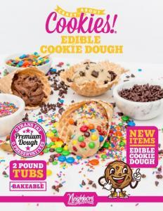 edible cookie dough fundraising brochure
