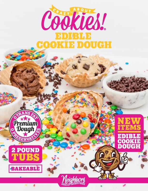 Edible Cookie Dough Fundraising