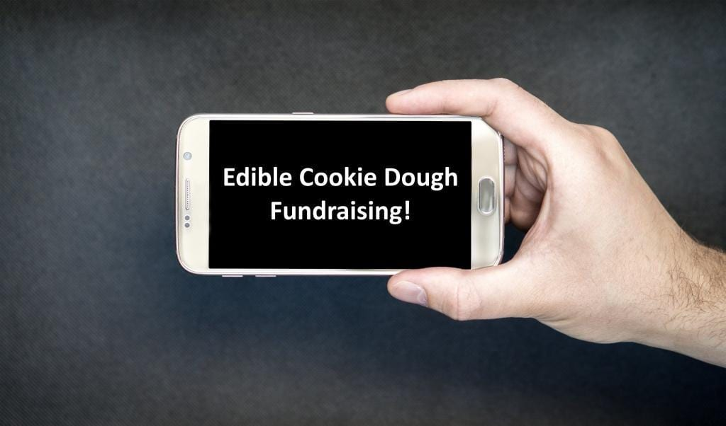 edible cookie dough fundraiser videos