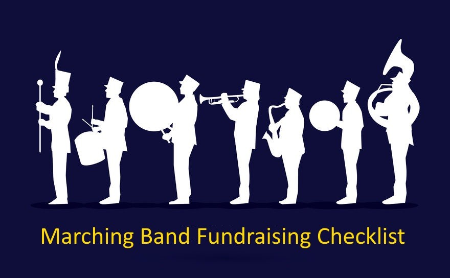 Checklist For Raising Funds For School Marching Band