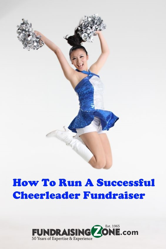 5 steps to running successful cheerleader fundraisier