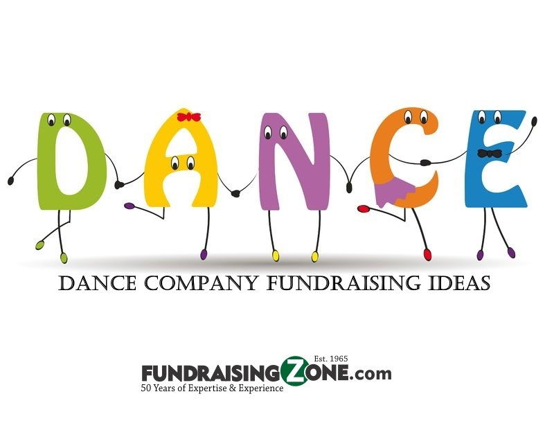 fundraising ideas for dance companies