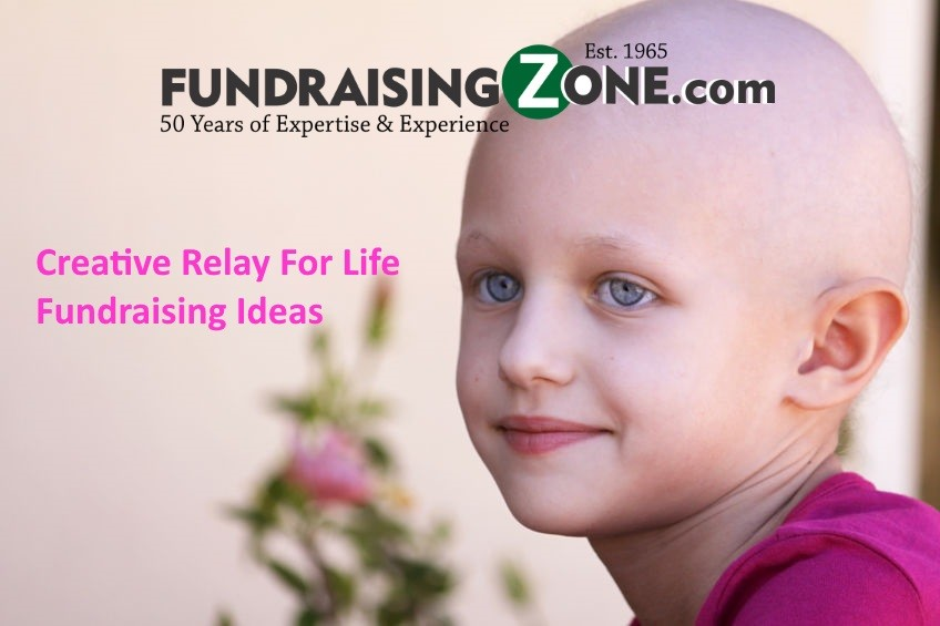 creative relay for life fundraising ideas