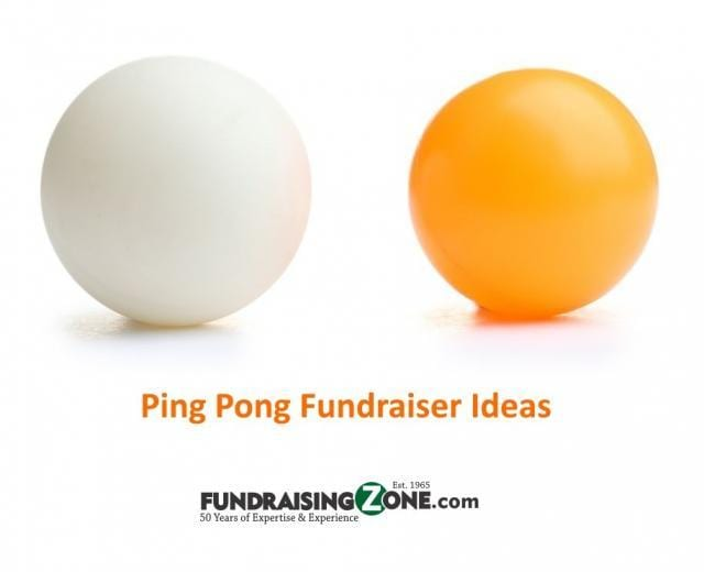 ping pong fundraising ideas 2