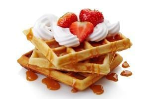 cheer waffle fundraisers