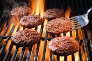 hamburger fundraiser for cheer squads
