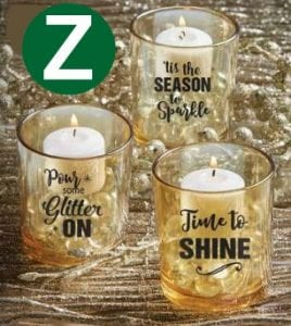 Cheerleading fundraising ideas selling candle votive holders