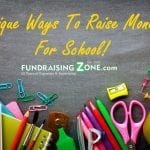 unique school fundraising ideas
