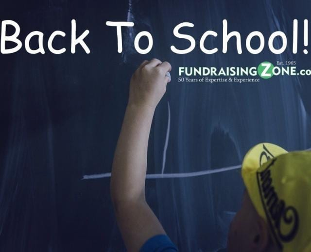 back to school fundraising