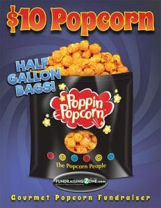 10.00 POPCORN brochure earns you up to 50% profit