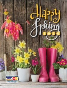 Happy Spring Fundraising brochure. Excellent fundraising ideas for kids!