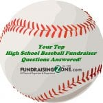 high school baseball fundraising ideas